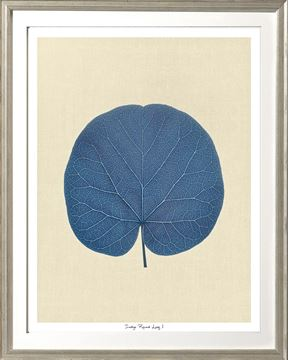 Picture of Indigo Round Leaf I Sml