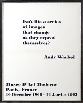 Picture of Exhibition, Poster - Warhol