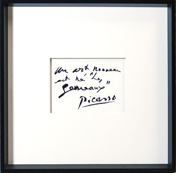 Picture of Picasso, Quote