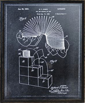 Picture of Slinky Patent - Charcoal