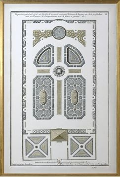 Picture of Jardin Plan - 1757, III