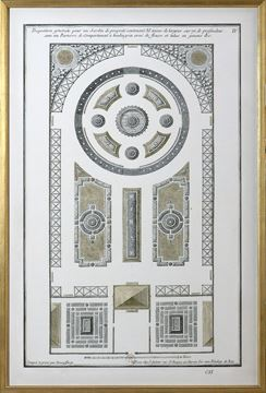 Picture of Jardin Plan - 1757, IV