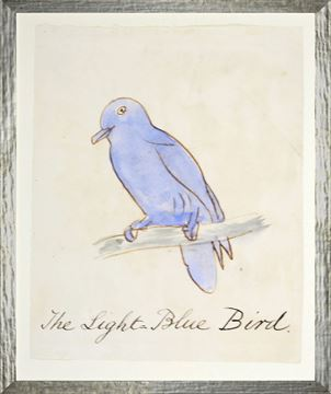 Picture of The Light Blue Bird - Small
