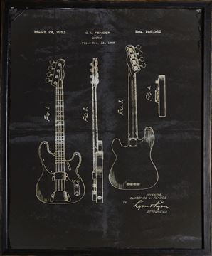 Picture of Fender Patent, 1952