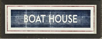 Picture of Sign - Boathouse