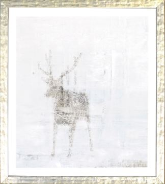Picture of Deer Silhouettes - Taupe V