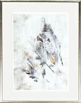 Picture of Copper Touched Feathers I