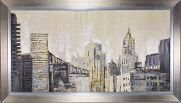 Picture of Jardine Metropolis - Framed on Board