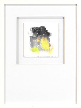 Picture of Watercolor Series - Yellow I (White)