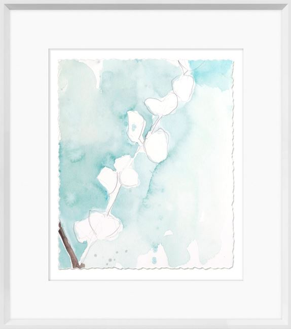 Picture of Ginkgo On Dusty Teal V
