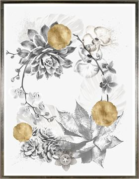 Picture of Succulent Wreath Overlay I - Lrg