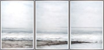 Picture of Seascape Near Heijst-Triptych
