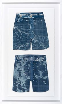 Picture of Swim Cutouts-Navy I