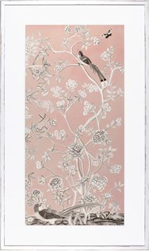 Picture of Blush Chinoiserie I
