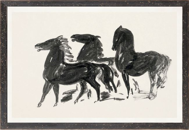 Picture of Collection 12 - Gestel, Three Horses  - 1900