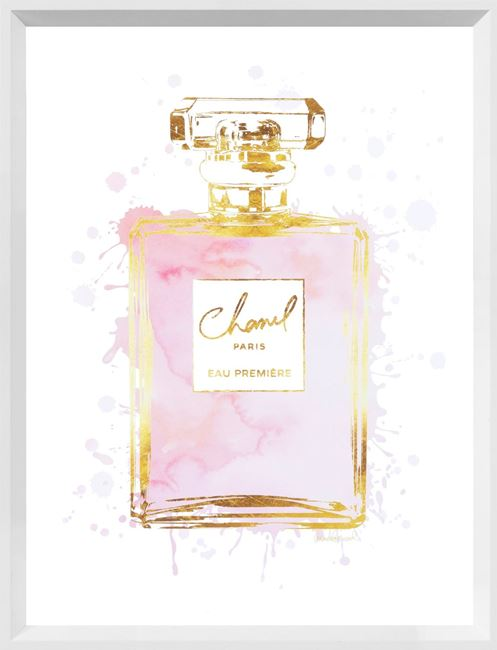 Picture of Perfume Bottle Dusty Rose II - Small