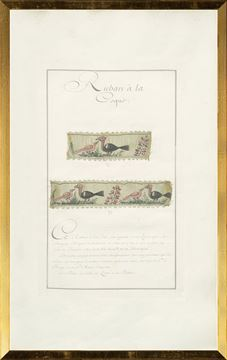 Picture of French Fabric Samplers VI, 1735