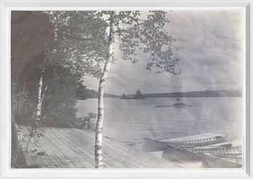Picture of Indigo Stained - Island View - Small