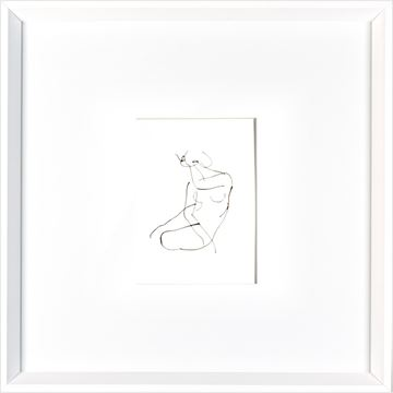 Picture of Nude - Gesture  - White