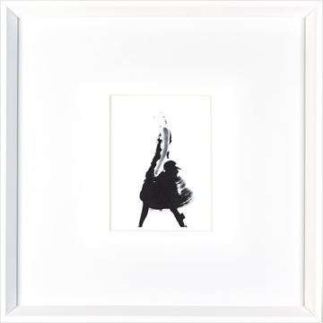 Picture of Cat Walk III  - White