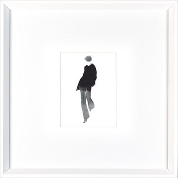 Picture of Cat Walk IV  - White