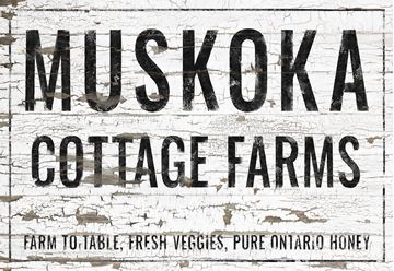 Picture of Muskoka Cottage Farms - Canvas