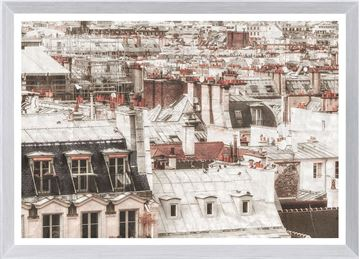 Picture of Terra Cotta Rooftops - Paris I - Large