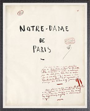 Picture of Notre Dame De Paris - Large - Victor Hugo