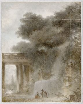 Picture of Fragonard - The Cascade
