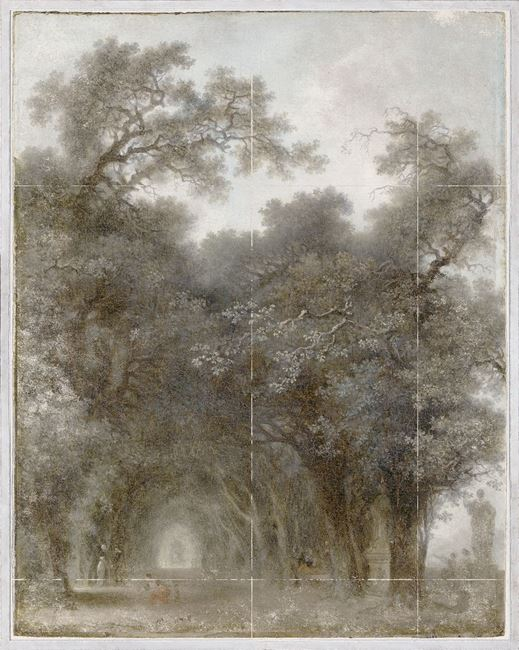 Picture of Fragonard - A Shaded Avenue