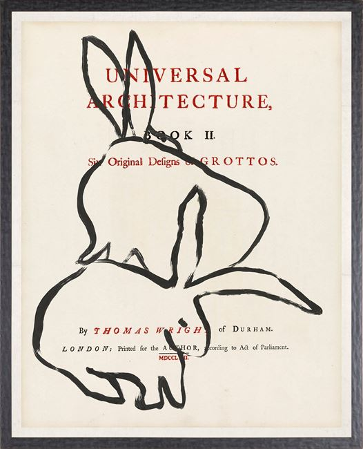 Picture of Frontispiece - Rabbits - Large