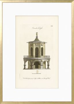 Picture of Engraving - Circular Temple, 1778