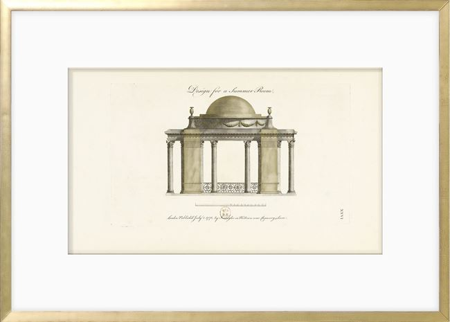 Picture of Engraving - Summer Room, 1778