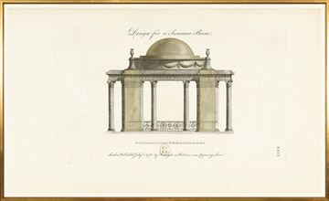 Picture of Engraving - Summer Room, 1778 - Large