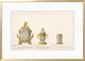 Picture of 18th Century Vase Design I - Gold