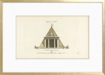 Picture of Engraving - Egyptian Temple, 1778