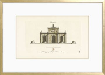 Picture of Engraving - Pavilion I, 1778