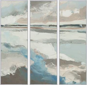 Picture of Territory - Triptych - Framed Canvas