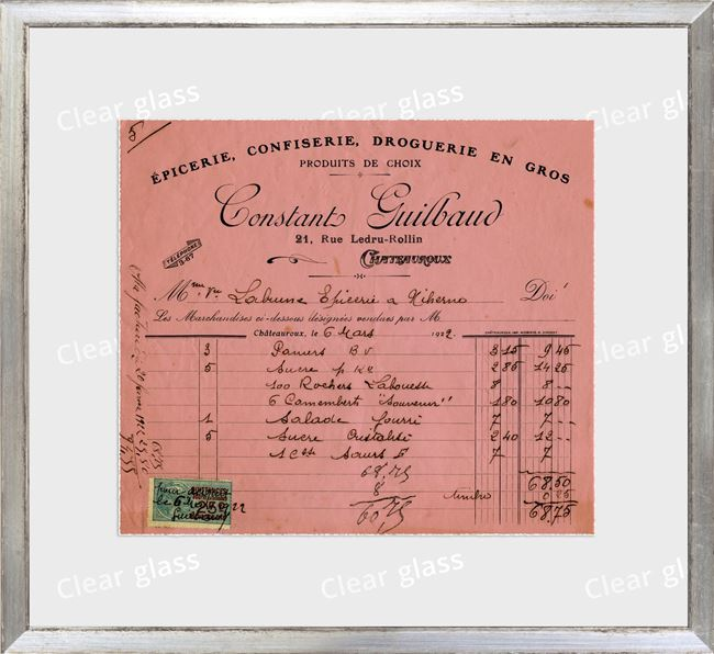 Picture of Collection 10 - French Receipt VIII
