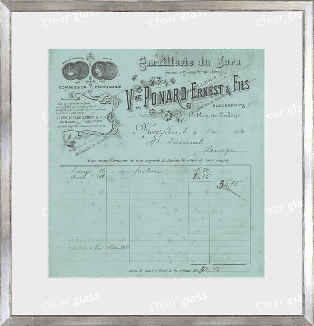 Picture of Collection 10 - French Receipt III