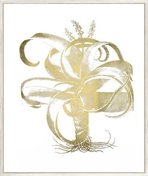 Picture of Gold Foil Aloe I