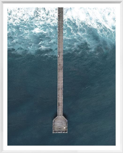 Picture of Deep Blue Wharf - Large