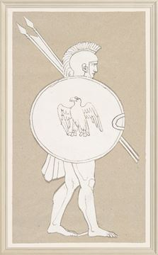 Picture of Collection 08 - Wedgewood Tile Design I, 19th Century