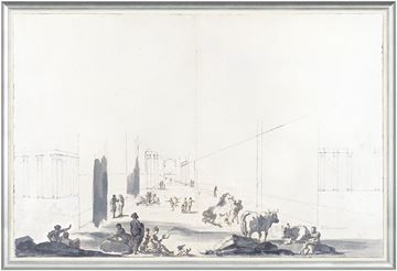 Picture of Italian Perspective, Bologna 1779 - Large