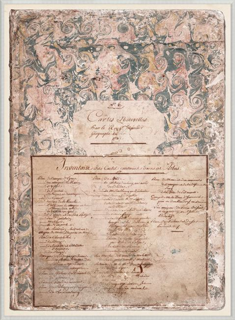 Picture of Le Rouge, Map Cover 1742
