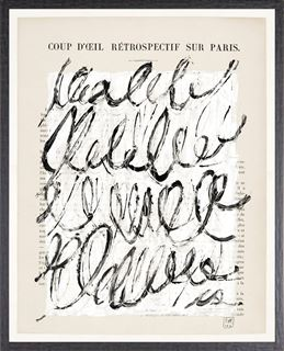 Picture of Parisienne Page III - Large Neutral