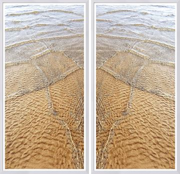 Picture of Golden Shallows Diptych
