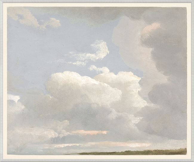 Picture of Cloud Study, 1800s - Large