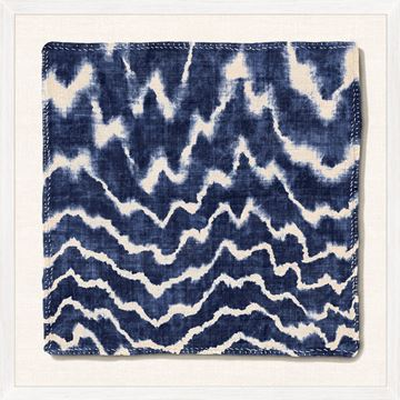 Picture of Indigo Textile V - Large