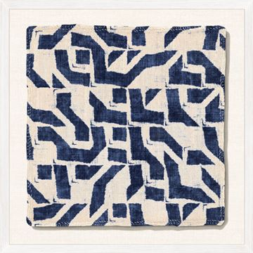 Picture of Indigo Textile XI - Large